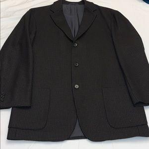 Hugo Boss Cashmere Houndstooth Jacket Blazer  42R